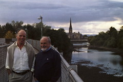 Ian Russel and Dad, Perth