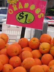 Orangy oranges