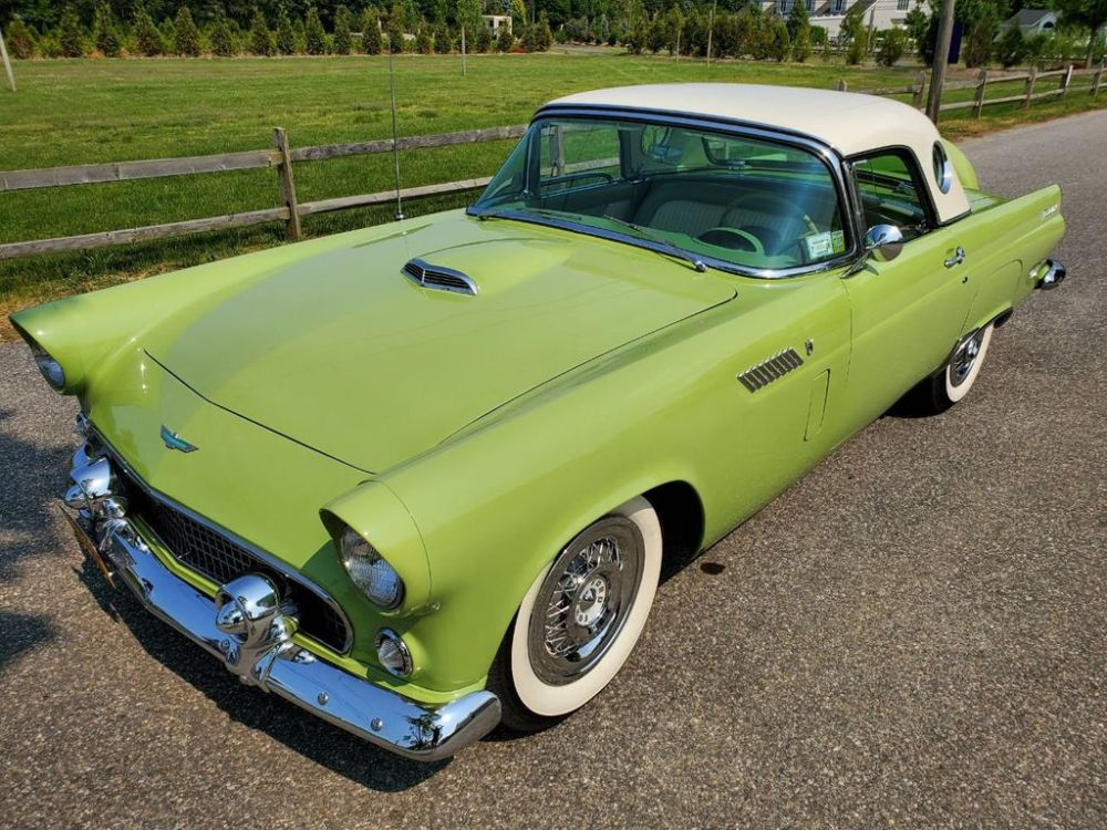 medium resolution of 1956 ford thunderbird for sale 18837090 10