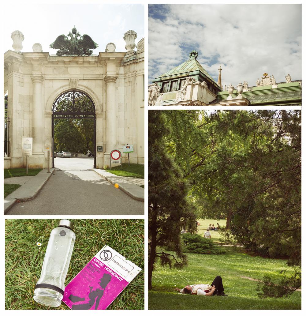 burggarten, summer, vienna, sun, lipizzaner,
