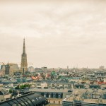 Above the roofs of Vienna