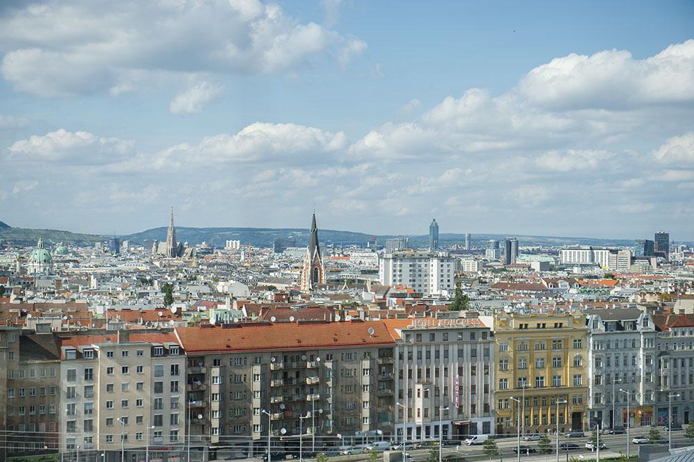 hauptbahnhof, main railway station, vienna, austria, oebb, 1040, bahnorama, from above