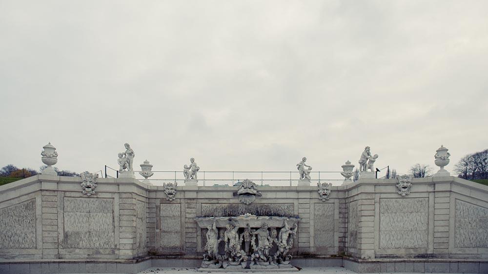 vienna, portrait, photography, winter, cold, belvedere