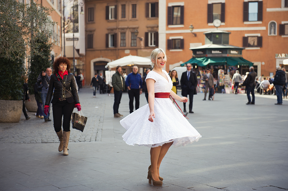 rome, italy, irina hofer, miss alice monster, spring, summer, fashion, roman holiday, vintage inspired