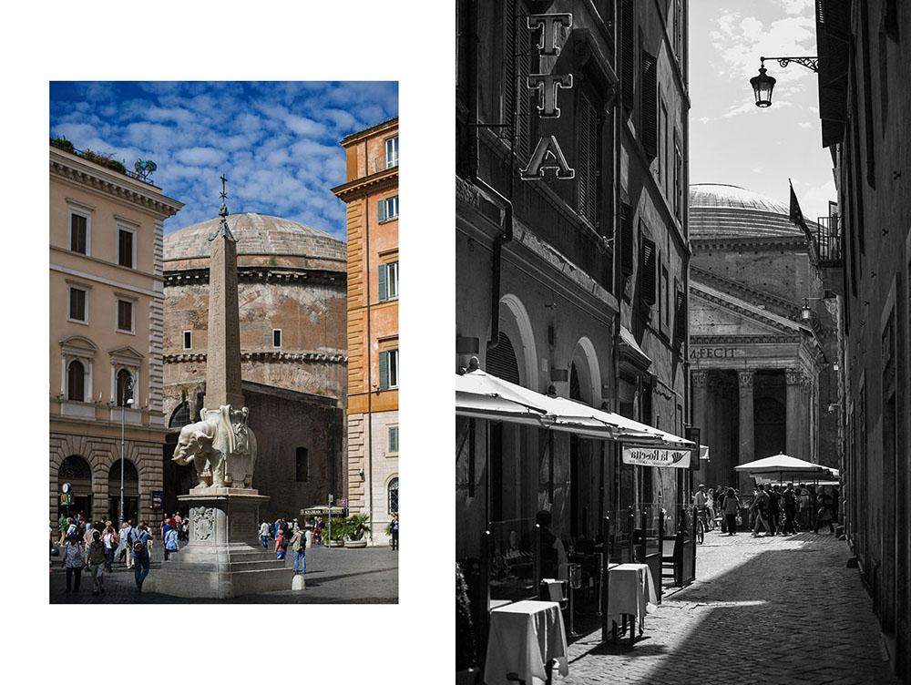 rome, roma, italy, pantheon