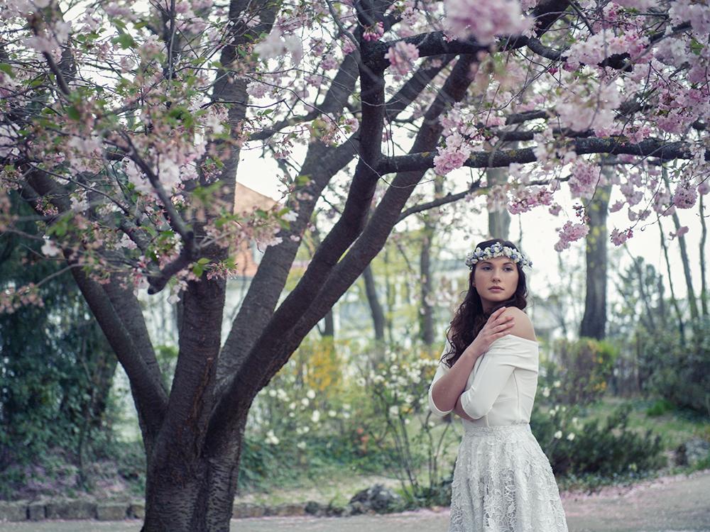 spring, vienna, irina hofer, shoot, fashion, flowers