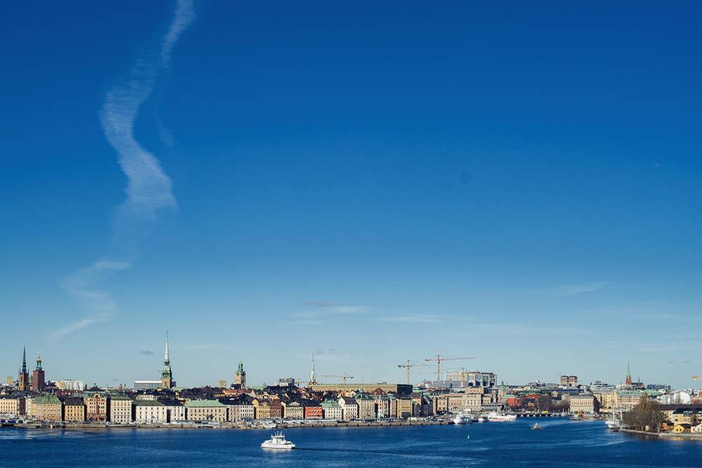 södermalm, fjaellgatan, stockholm, sweden, gamla stan