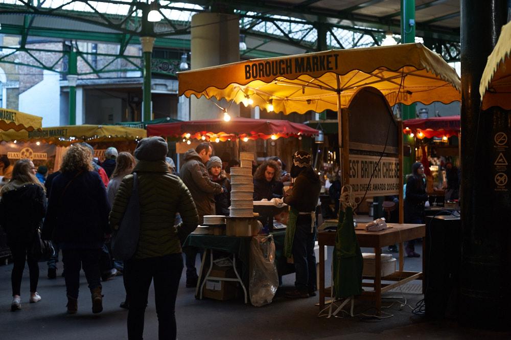 burough market, lonodn, uk