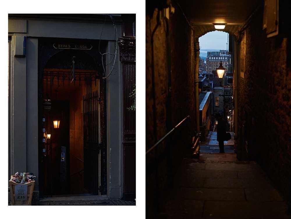 royal mile, edinburgh, scotland, uk