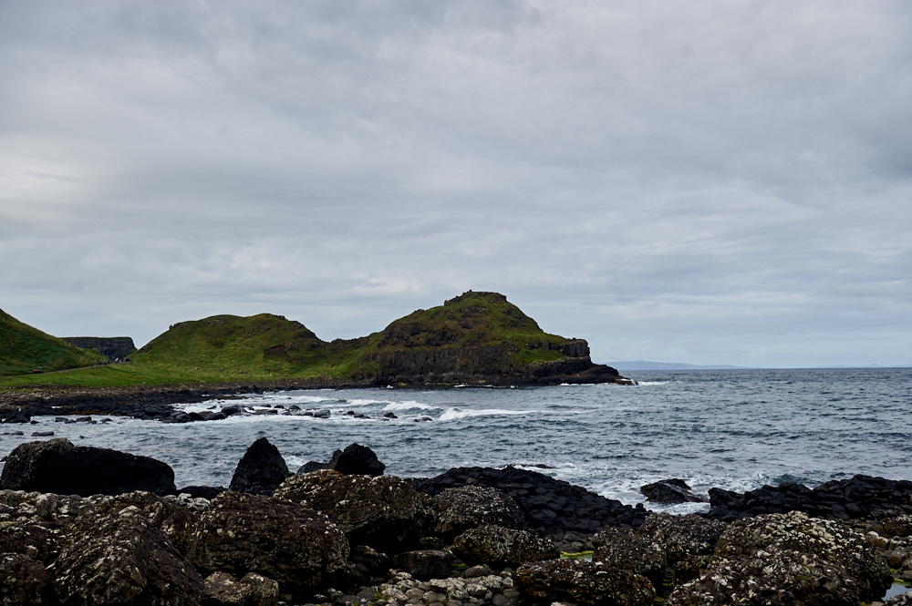 giant´s causeway, northern ireland, county antrim, uk, basalt, ocean