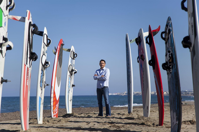 Νίκος Κακλαμανακης: χρυσός ολυμπιονίκης ιστιοπλοϊας