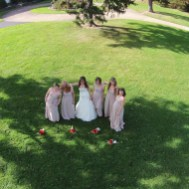 Aerial Bridesmaids