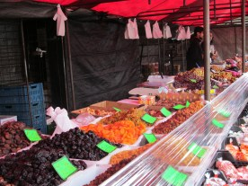 dried fruit booth