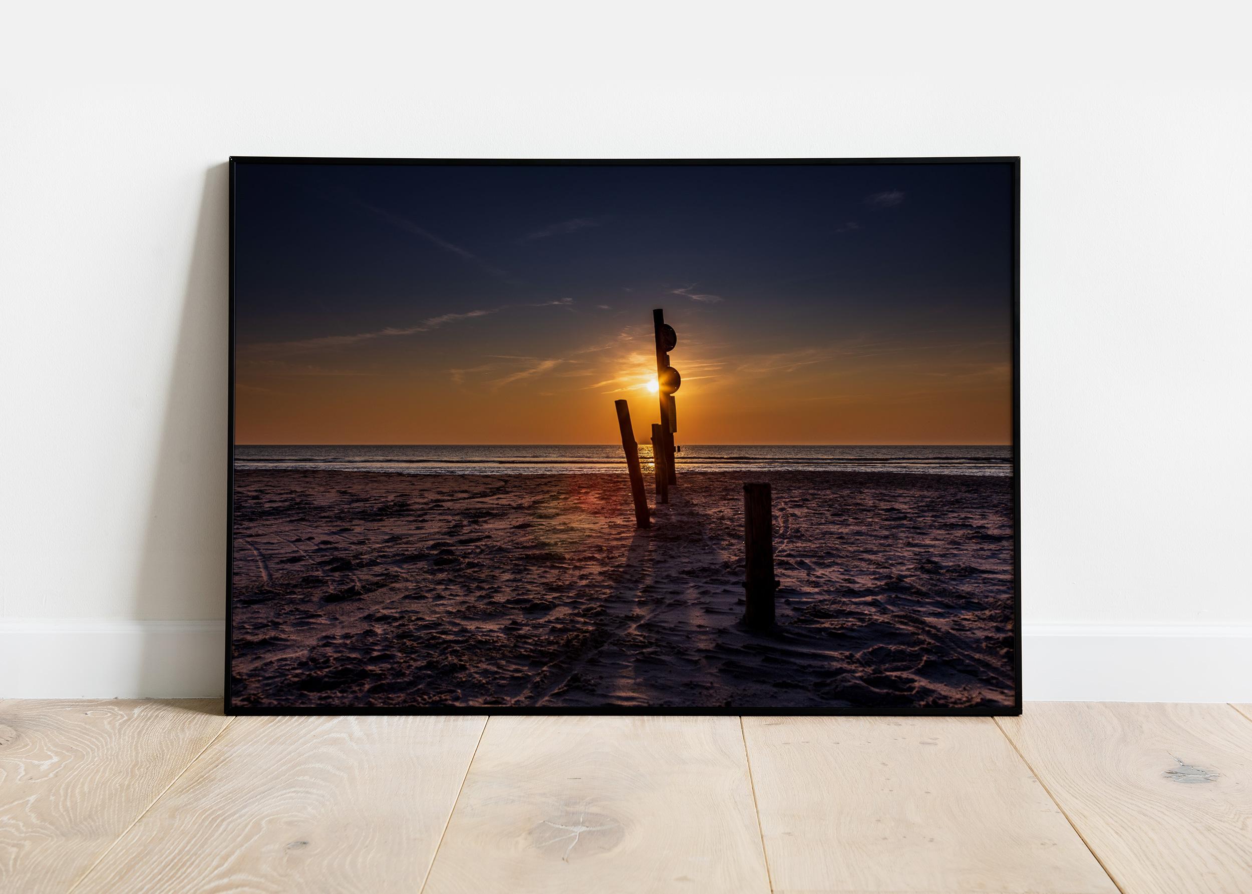 Sol over Vejers Strand