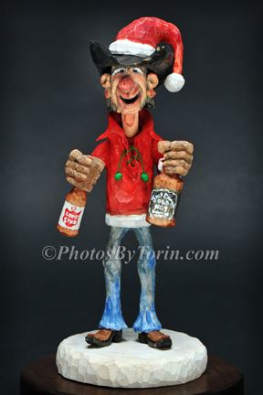 Beer Santa