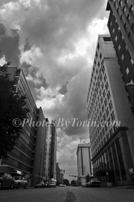 Downtown WF BW