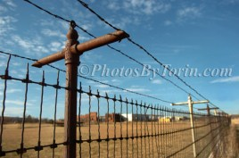 Iron Cross Fence