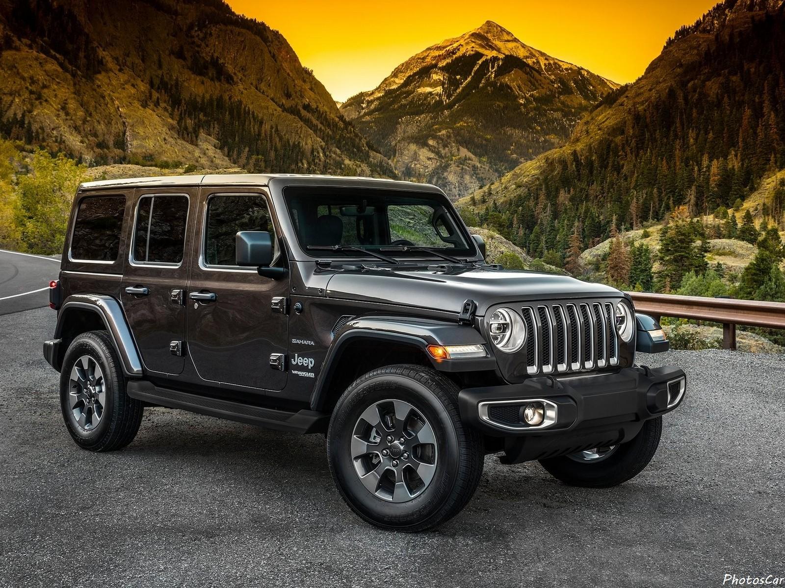 Jeep Wrangler Unlimited 2018  Le Premier Hybride De La Marque