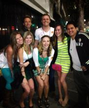 My group of friends at my Birthday Bar Crawl.