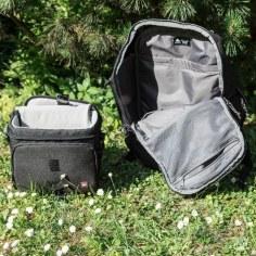 Burten Daypack Rucksack - Notlösung Kamera