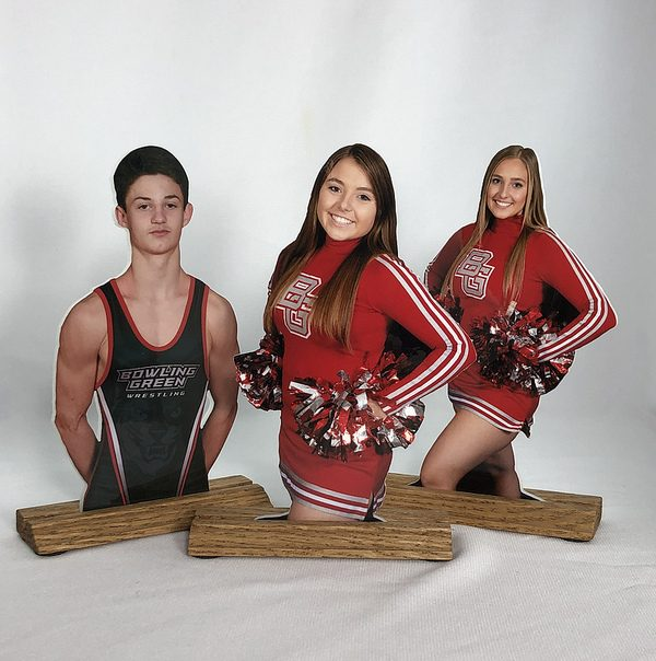 Sports Photos Make Great Photo Statuettes, Cutouts and Photo Gifts