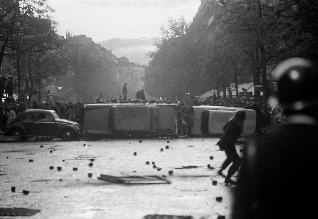 Mai 1968 - Paris - France - Goskin Sipahioglu - 5