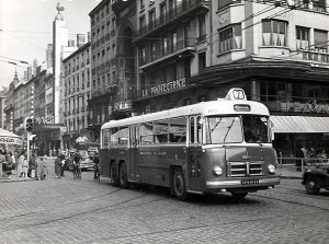 Rue de la République, Lyon en 1956