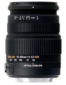 Sigma 50-200 mm F4-5.6 DC OS HSM