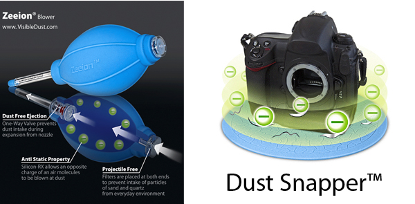 Visible Dust Zeeion si Dust Snapper