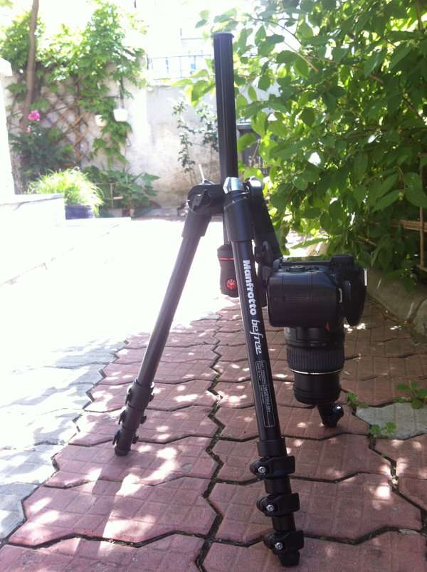 Manfrotto Befree macro position