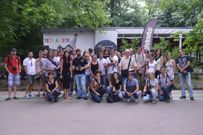 Intalnirile Fotografice Photosetup, poza de grup