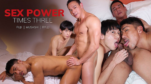 [JapanBoyz] Ryuji, Musashi and Fuji – Sex Power Times Three