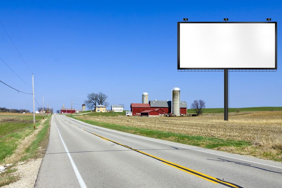 Roadside Advertising Board 1