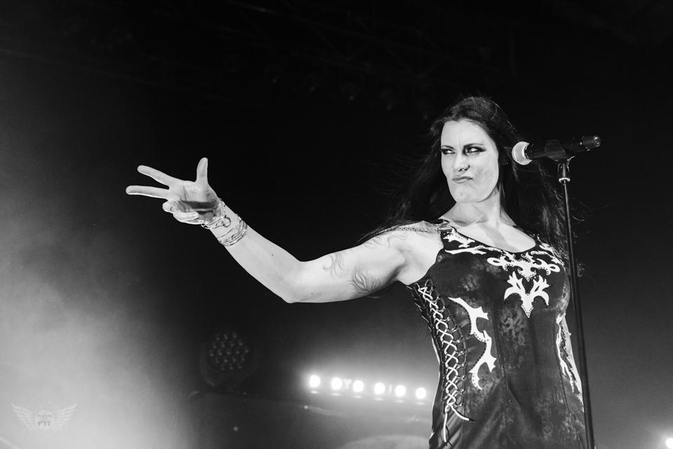 Nightwish, Sabaton, and Delain roll into Iowa - Photos from