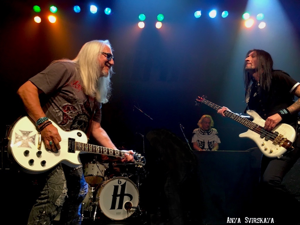 URIAH HEEP Packs the House in NYC - Photos from the Pit