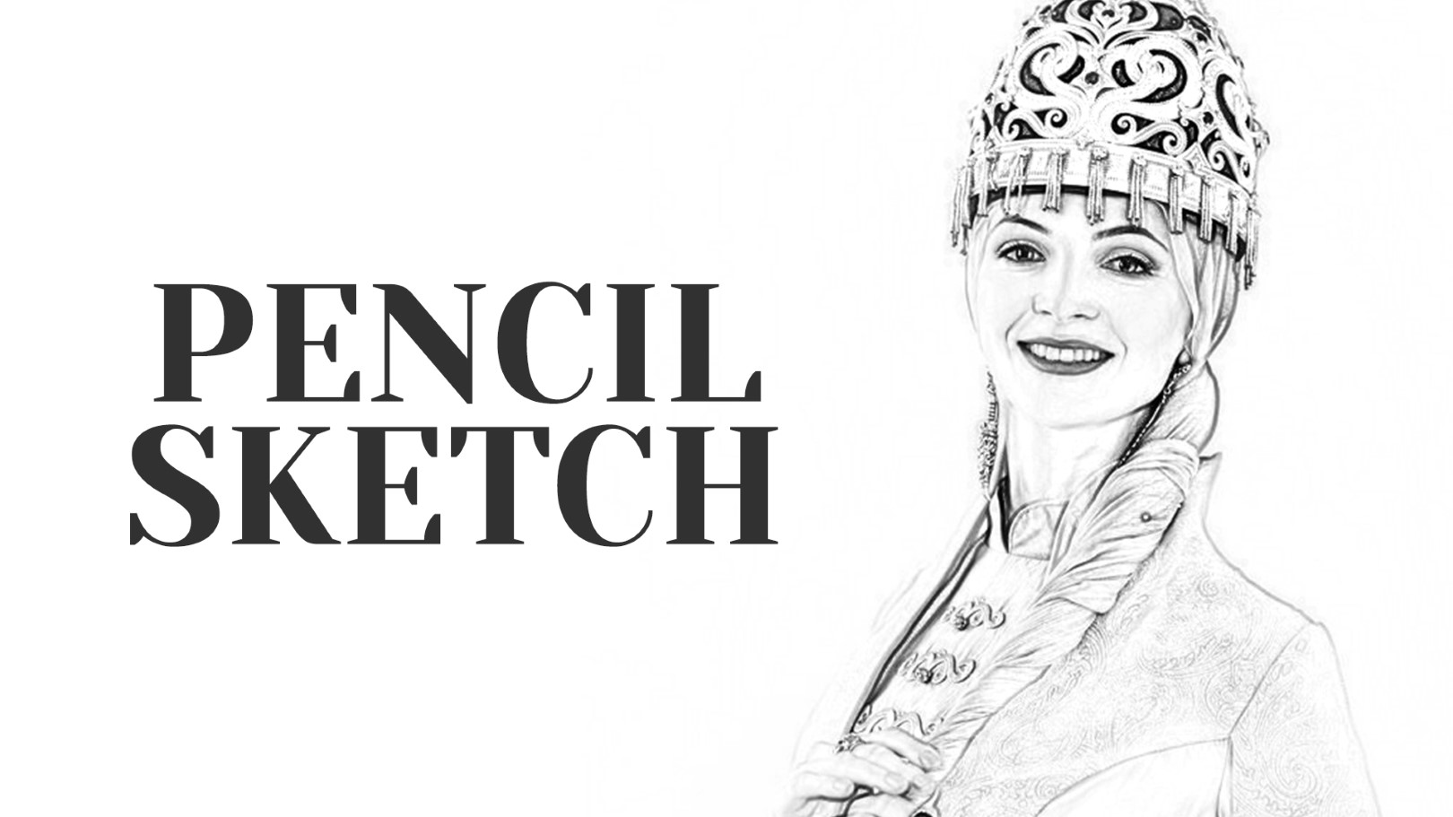 Photograph to sketch art photoshop action free download