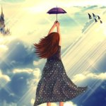 Create a Flying girl photomanipulation using photoshop