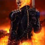 Inspirational art 17-Ghost rider
