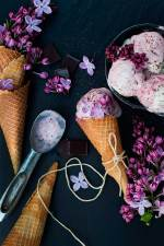 Lilac and icecream