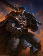 character Garen from League of Legends