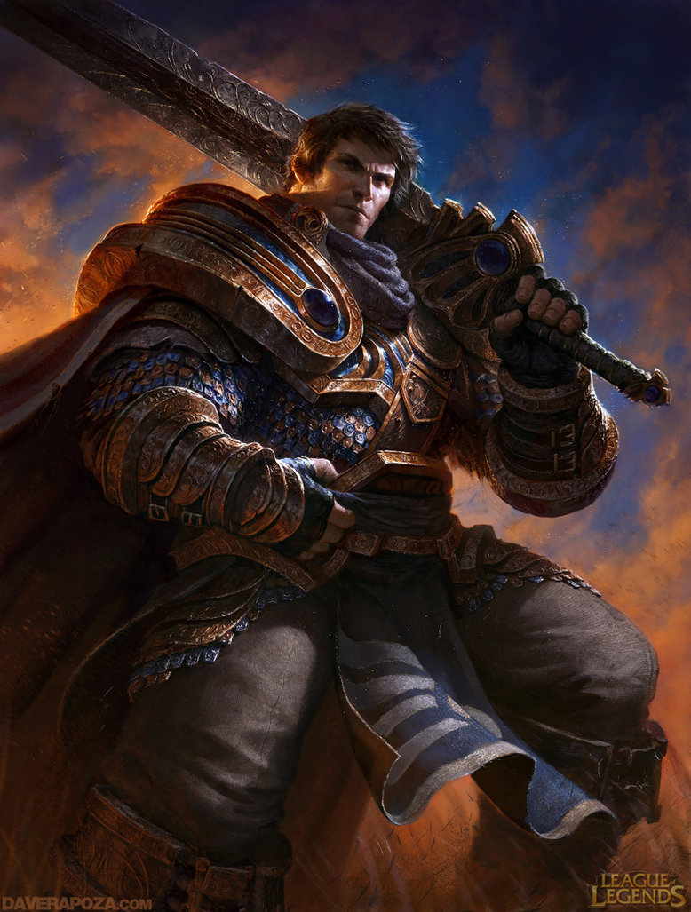 character Garen from League of Legends