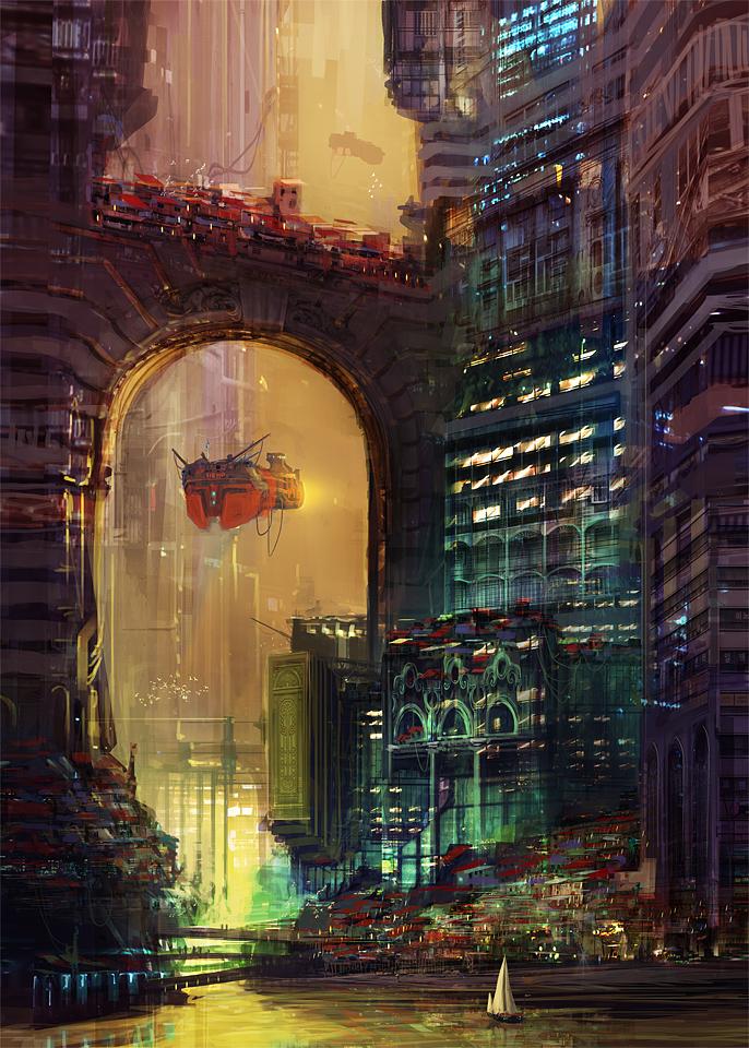 sci fi digital art