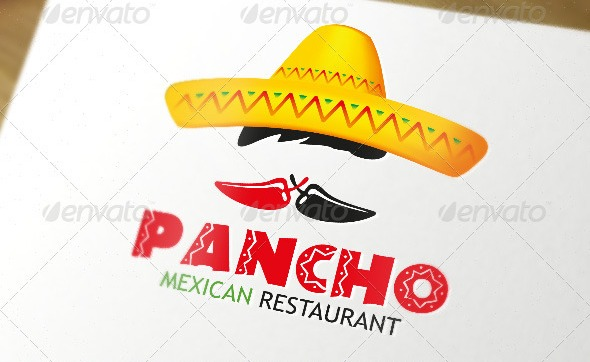 Mexican restaurant chillies logo