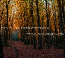 How to Create Rain using Photoshop in 7 easy steps