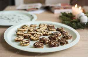 Christmas cakes cookies