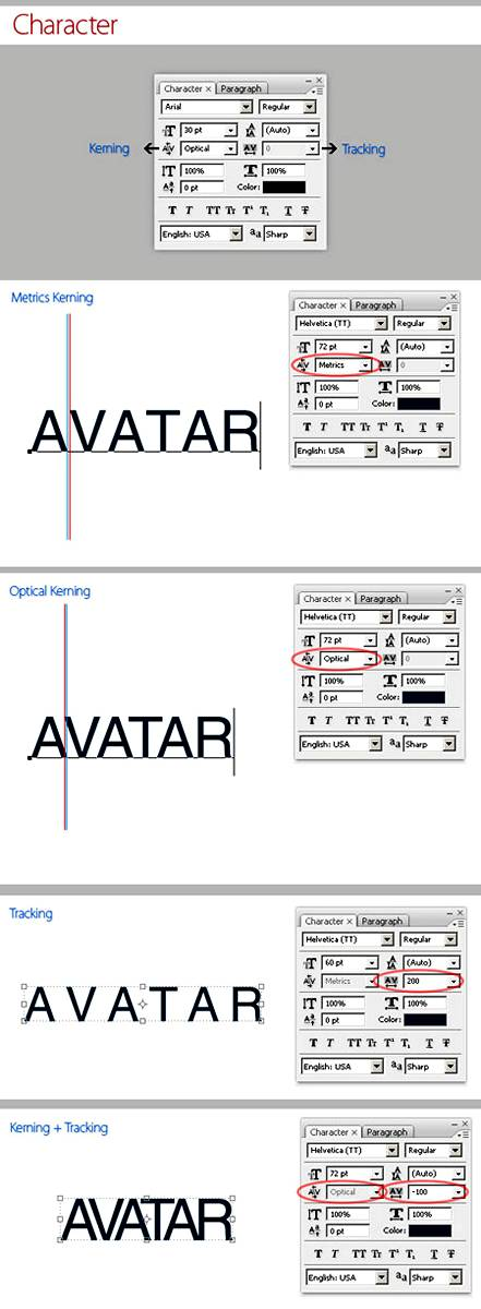 Værktøjstekst (Type Tool) til at skrive tekst i billeder i Photoshop