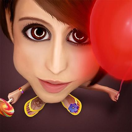 Create A Digital Cartoon In Photoshop