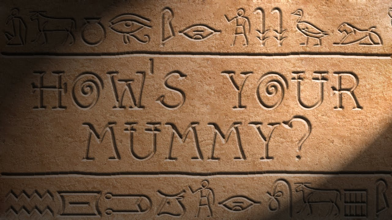 How To Carve Egyptian Hieroglyphics In Photoshop