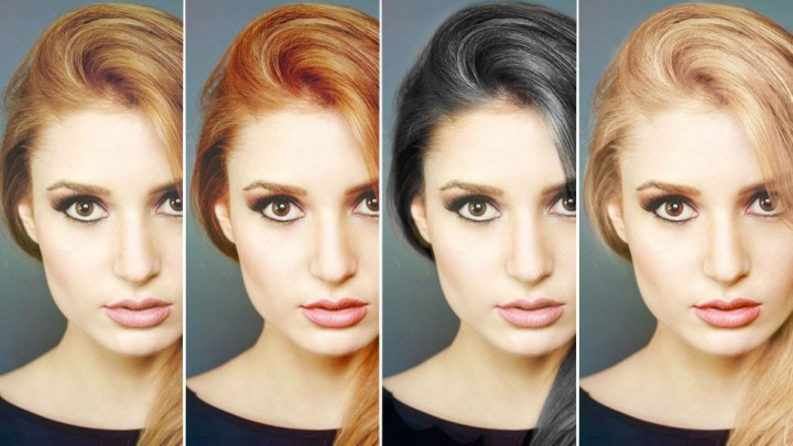 Digital makeover in Photoshop guide