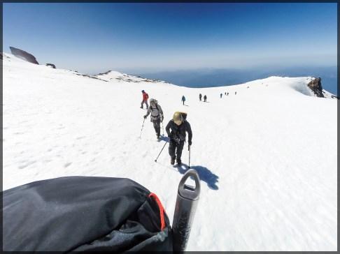 Atop the Glacier